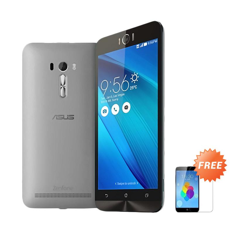 Ultrathin Aircase Casing for Asus Zenfone Laser 5.5 Inch - Black Clear [Best Seller] + Free Tempered Glass