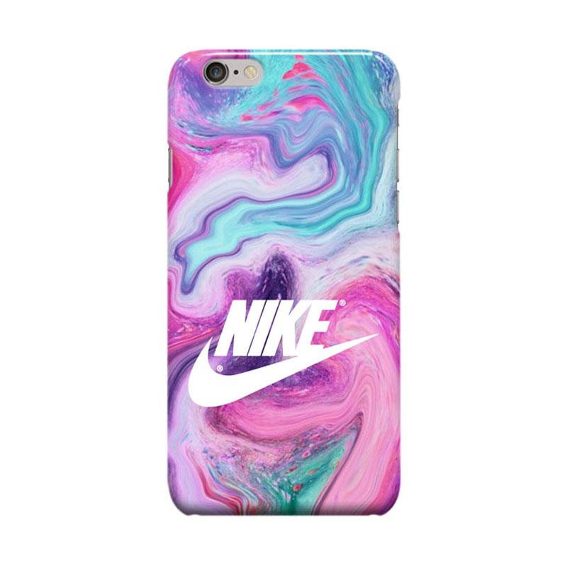 Indocustomcase Nike Just Do It On Marble SC04 Cover Casing for Apple iPhone 6 Plus or 6S Plus