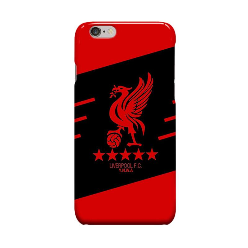 Indocustomcase Liverpool FC Logo RB03 Cover Casing for Apple iPhone 6 Plus or iPhone 6S Plus