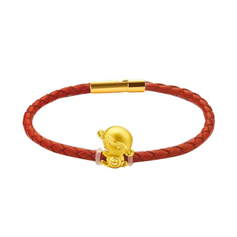 Tiaria Zodiac Bracelet Perhiasan Emas Gelang Emas Gold 24K + Free Pembersih + Kotak Perhiasan + Kartu Ucapan Ekslusif