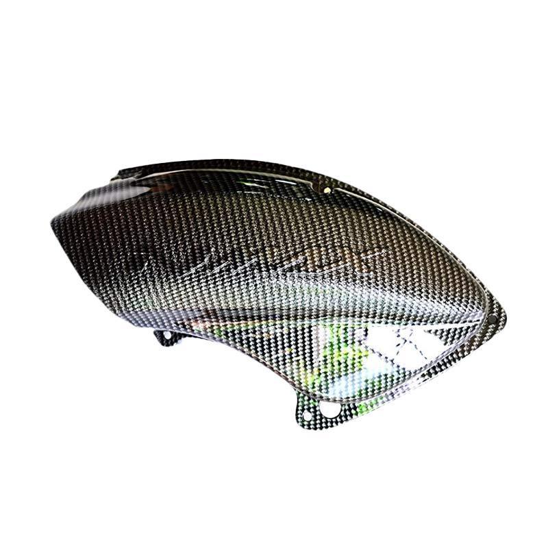 Raja Motor Cover Pelindung Filter Udara - Carbon [CTB3101-Carbon]