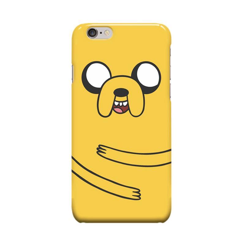 Indocustomcase Cartoon Jake Dog BMO Adventure Time Casing for Apple iPhone 6 Plus or 6S Plus