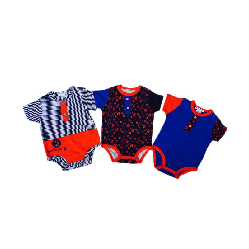 Chloe Babyshop Style Rompers 3in1 Gentle Boy Import Thailand Set Baby Jumpers - multi colour