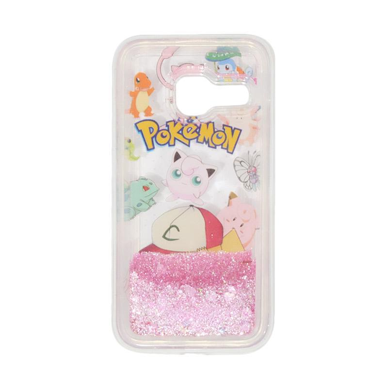 harga QCF Softshell Softcase Aquarium Water Glitter Casing Pokemon Edition Versi 5 for Samsung Galaxy J1 Mini Blibli.com