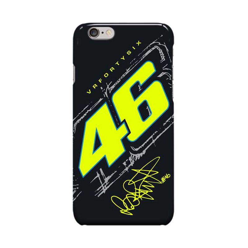Indocustomcase Valentino Rossi The Doctor VR46 ID05 Casing for Apple iPhone 6 Plus or 6S Plus
