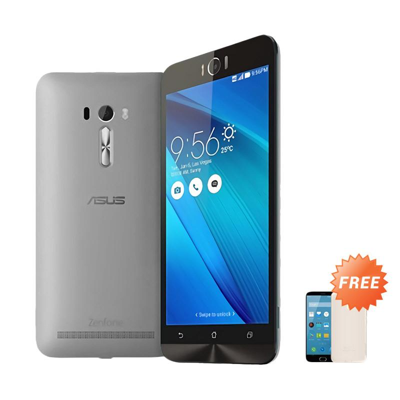 Ultrathin Aircase Casing for Asus Zenfone Laser 5.5 inch - Black Clear [Best Seller] + Free Ultra thin Casing