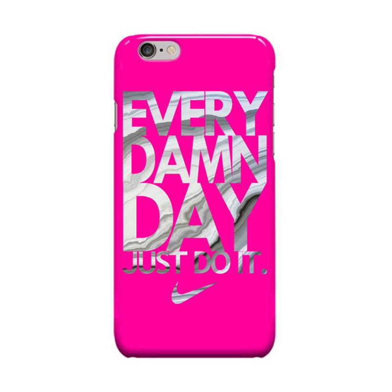 Indocustomcase Every Damn Day Nike Just Do It Cover Casing for Apple iPhone 6 Plus or 6S Plus