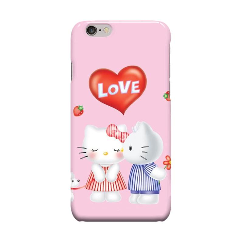 Indocustomcase Cartoon Hello Kitty Series HK06 Love Casing for Apple iPhone 6 Plus or 6S Plus