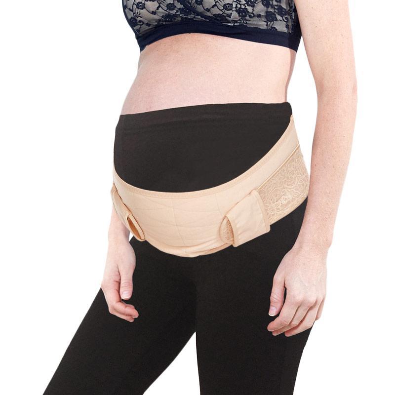 harga Mamaway Ergonomic Maternity Support Belt Korset Sabuk Ikat Pinggang Penyangga Perut Ibu Hamil - Nude