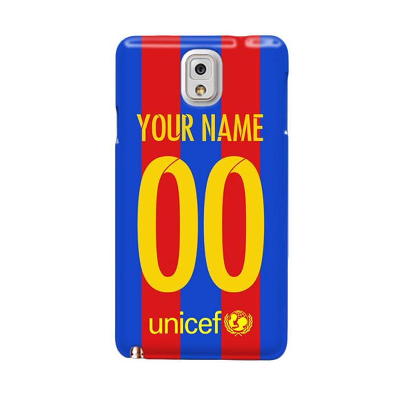 6958a822ab2 Jual Indocustomcase FC Barcelona Jersey 2016 Print Name + Number Custom  Hardcase Casing for Galaxy Note 3 N9000 Online - Harga   Kualitas Terjamin