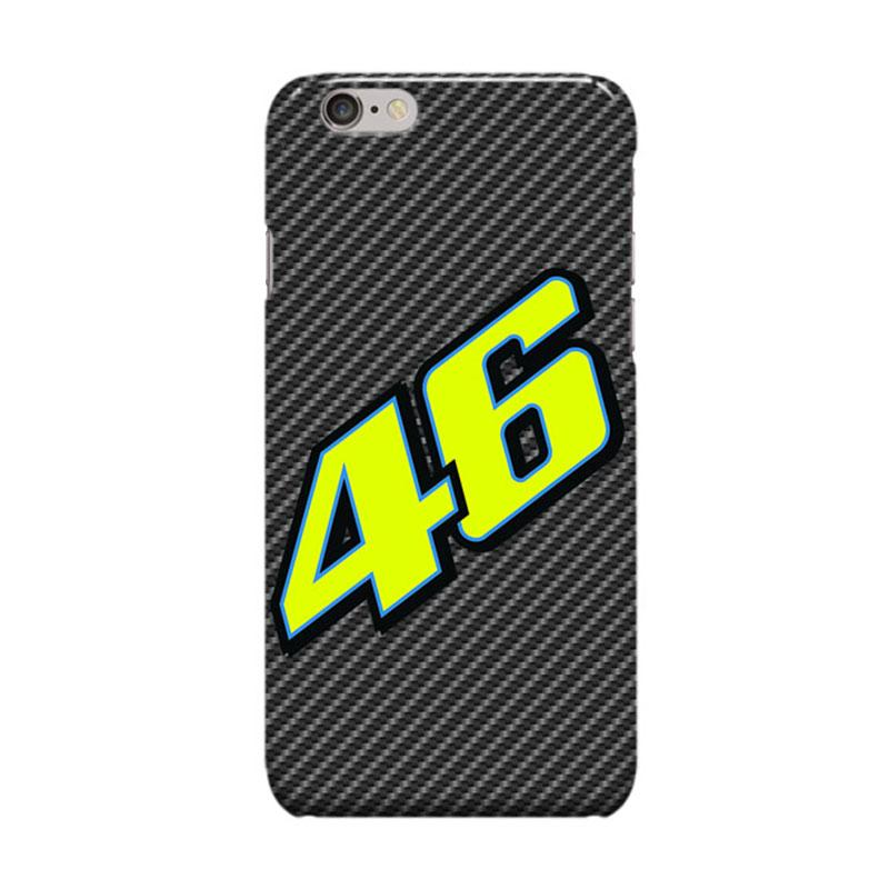 Indocustomcase Valentino Rossi The Doctor VR46 ID03 Cover Casing for Apple iPhone 6 Plus - 6S Plus