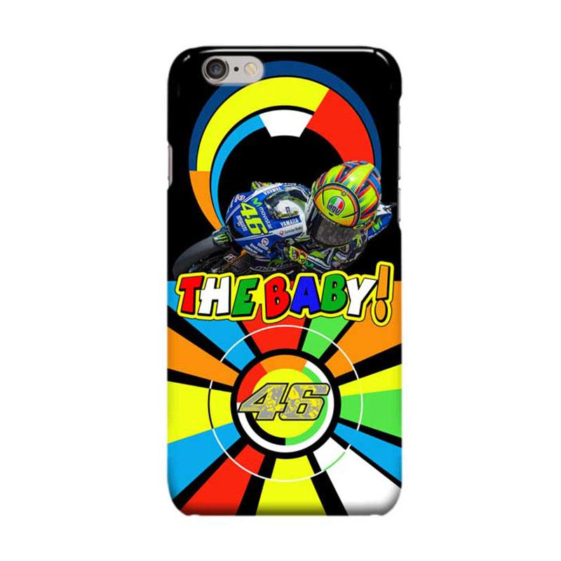 Indocustomcase Valentino Rossi The Doctor VR46 ID06 Cover Casing for Apple iPhone 6 Plus - 6S Plus