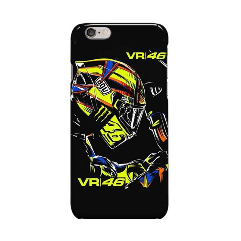 Indocustomcase Valentino Rossi The Doctor VR46 ID09 Cover Casing for Apple iPhone 6 Plus - 6S Plus
