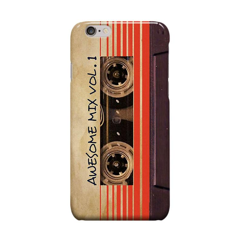 Indocustomcase Awesome Mix Vol 1 Vintage Cassette Cover Casing for Apple iPhone 6 Plus or 6S Plus