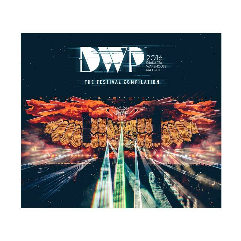 Universal Music Indonesia Various Artists - DWP 2016 The Festival Compilation CD Musik