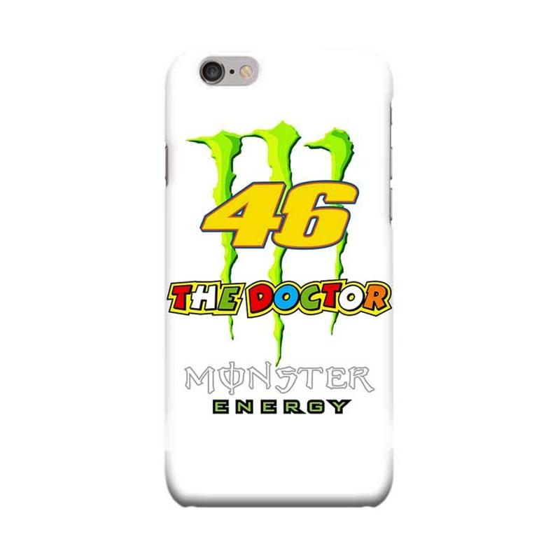 Indocustomcase Valentino Rossi The Doctor VR46 ID10 Cover Casing for Apple iPhone 6 Plus or 6S Plus