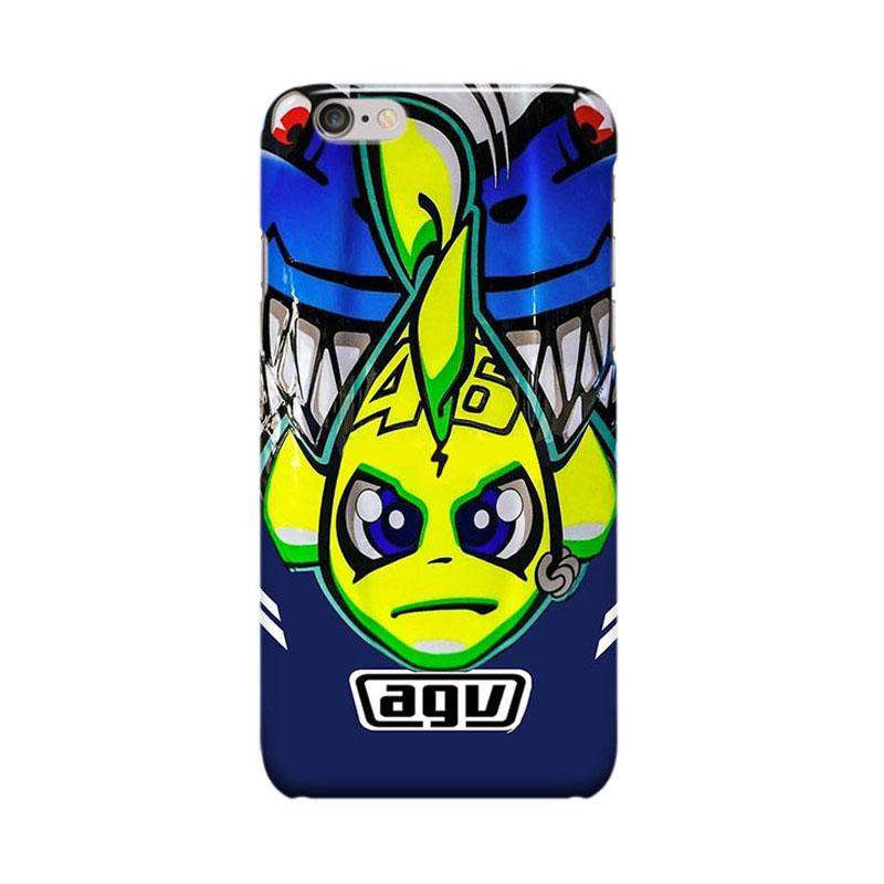 Indocustomcase Valentino Rossi The Doctor VR46 ID04 Cover Casing for Apple iPhone 6 Plus or 6S Plus
