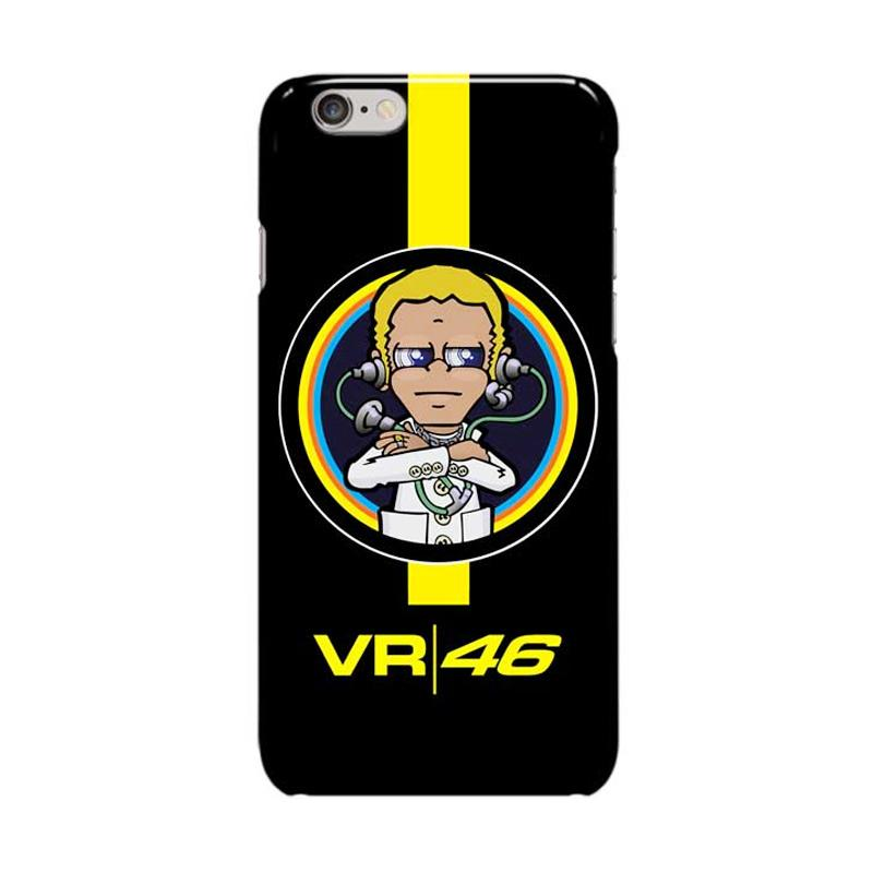 Indocustomcase Valentino Rossi The Doctor VR46 ID07 Cover Casing for Apple iPhone 6 Plus or 6S Plus