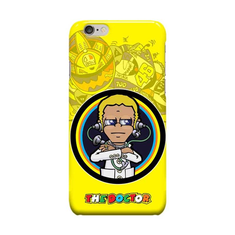 Indocustomcase Valentino Rossi The Doctor VR46 ID08 Cover Casing for Apple iPhone 6 Plus or 6S Plus
