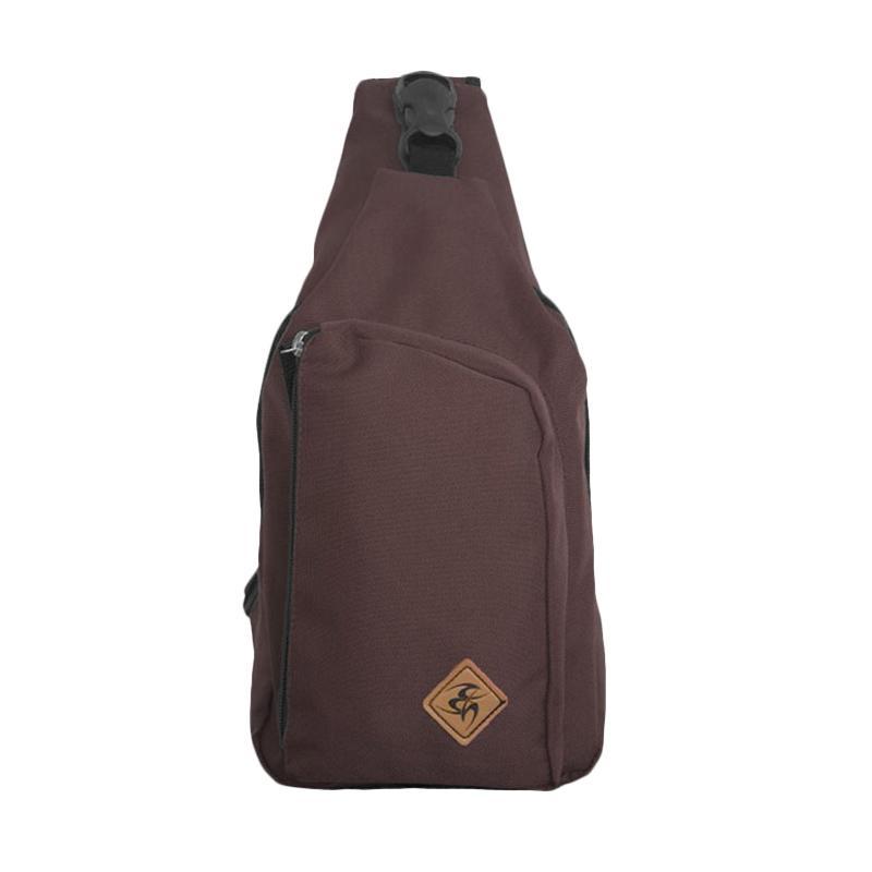 Best Seller Bag & Stuff Fashion Brand Oregon Shoulder Crossbody Tas Selempang Pria - Coklat