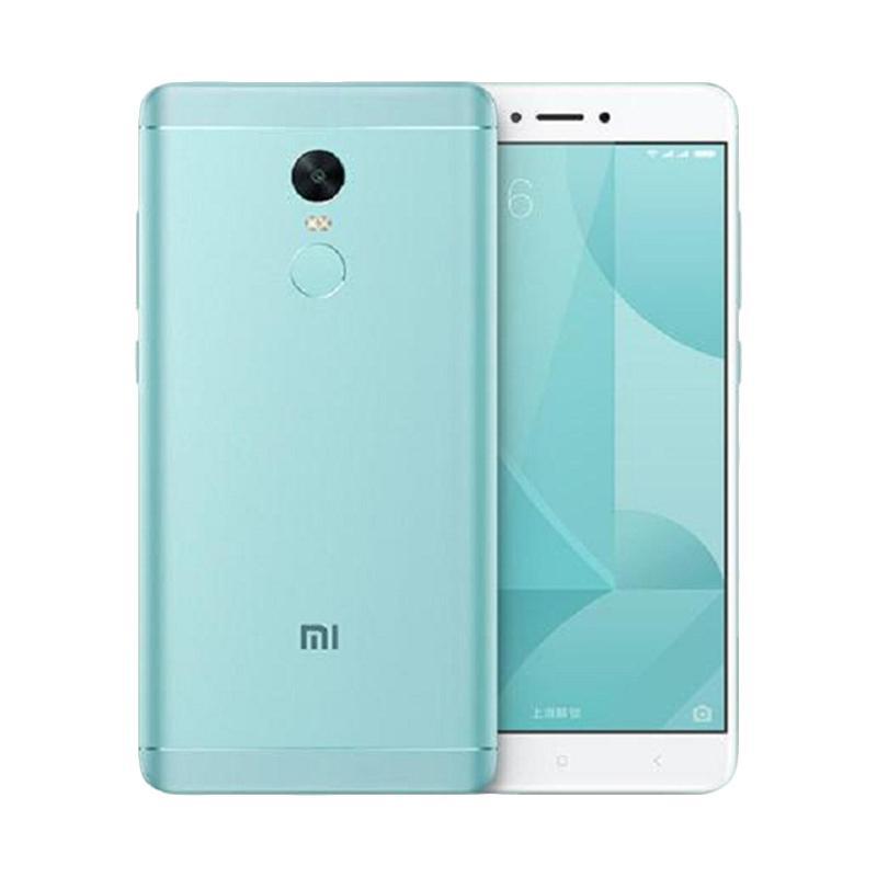 Diskon Xiaomi Redmi Note 4X Smartphone – Ice Blue [3GB/32GB]