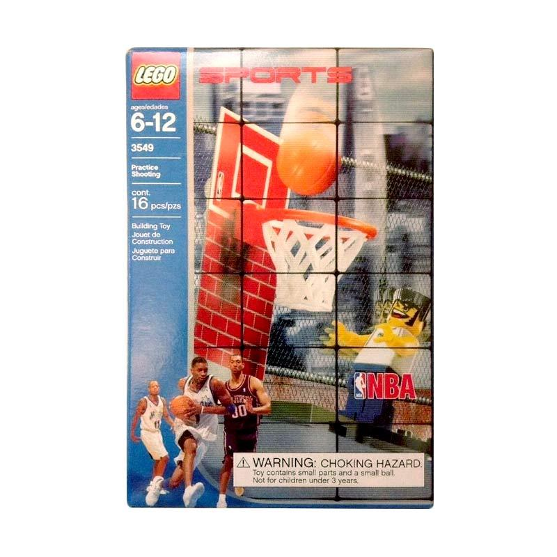 LEGO Sports 3549 Basketball Practice Shooting Set