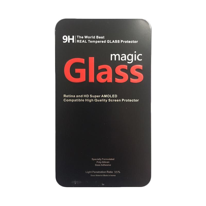 Magic Glass Premium Tempered Glass Screen Protector with Metal Packaging for iphone 6 Plus or iPhone 6S Plus
