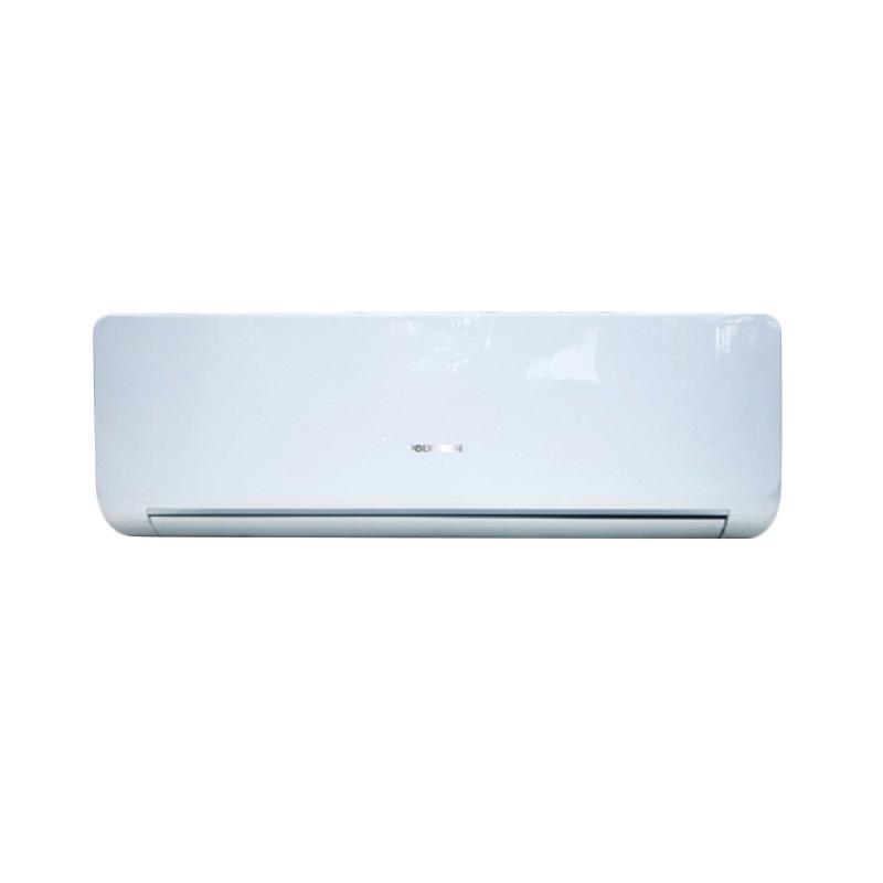 POLYTRON Aurora Deluxe PAC-18VE Standard AC Split - Putih [2 PK/Khusus Jabodetabek] + Free Pemasangan Pipa & Kabel 5 m + Duct + Bracket