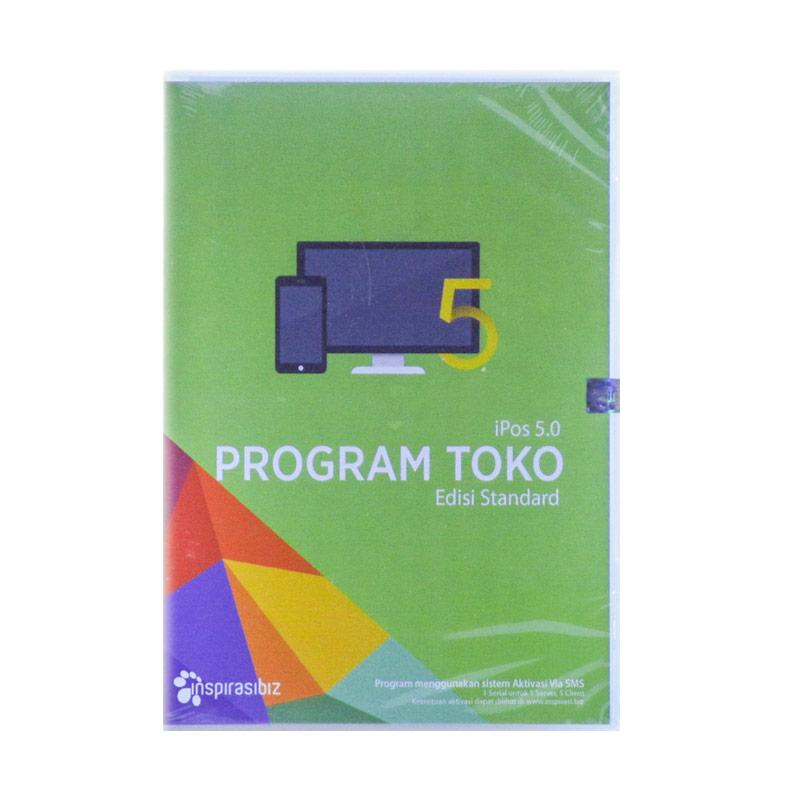 Inspirasibiz Program Toko iPOS 5.0 Edisi Standard Software Penjualan dan Stok Barang Siap Pakai untuk UKM