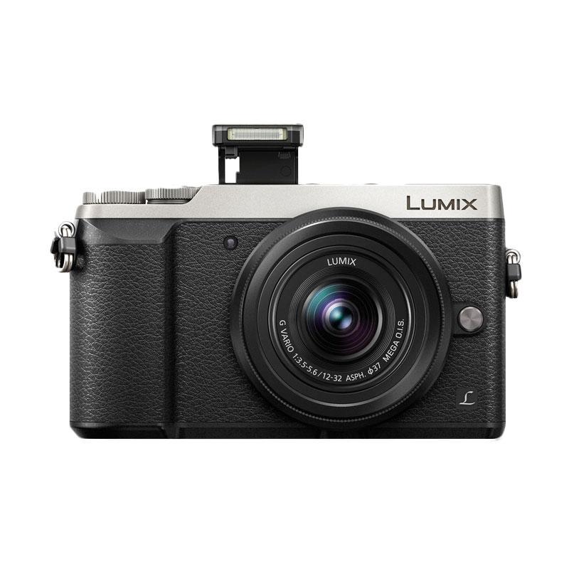 harga Panasonic Lumix DMC-GX85K 12-32mm KAMERA MIRRORLESS- Silver + free baterai tambahan Blibli.com