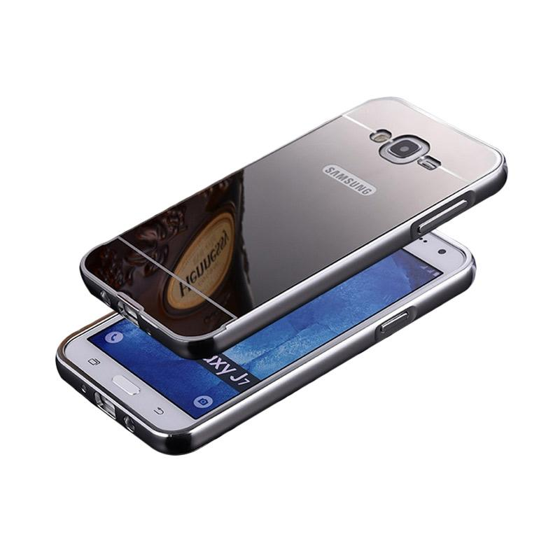 Jual Priskilla Cell Bumper Mirror Alumunium Metal Sliding Hardcase Casing for Samsung Galaxy .