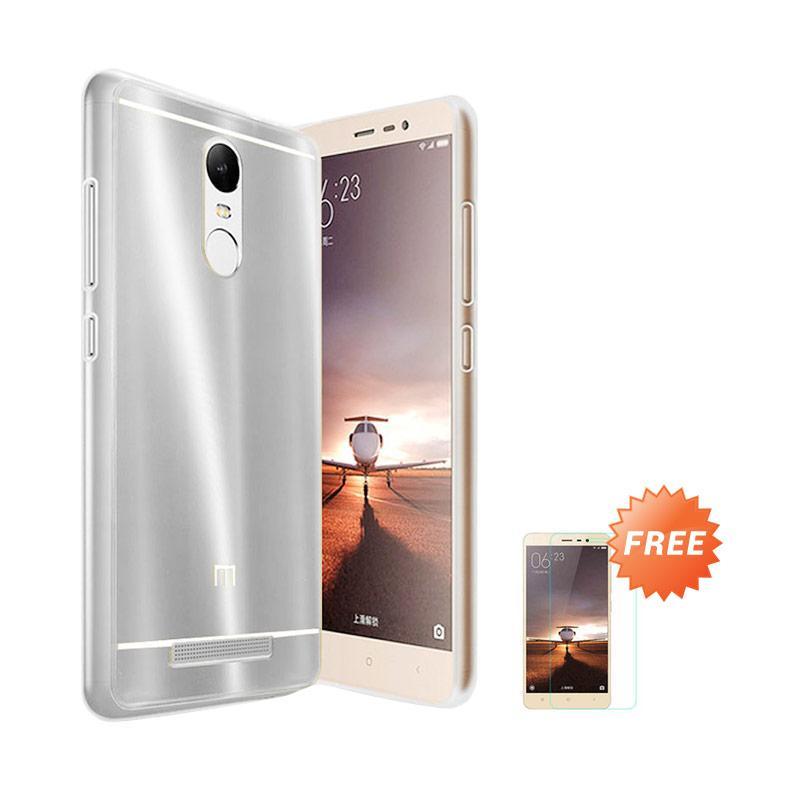 Case Aluminium Bumper Slide Mirror Casing for Xiaomi Redmi Pro - Hitam [Best Seller] + Free Tempered Glass Screen Protector