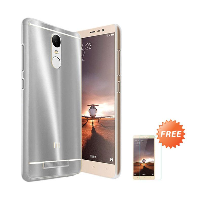 Case Aluminium Bumper Slide Mirror Casing for Xiaomi Redmi Pro - Silver + Free Tempered Glass Screen Protector [Best Seller]