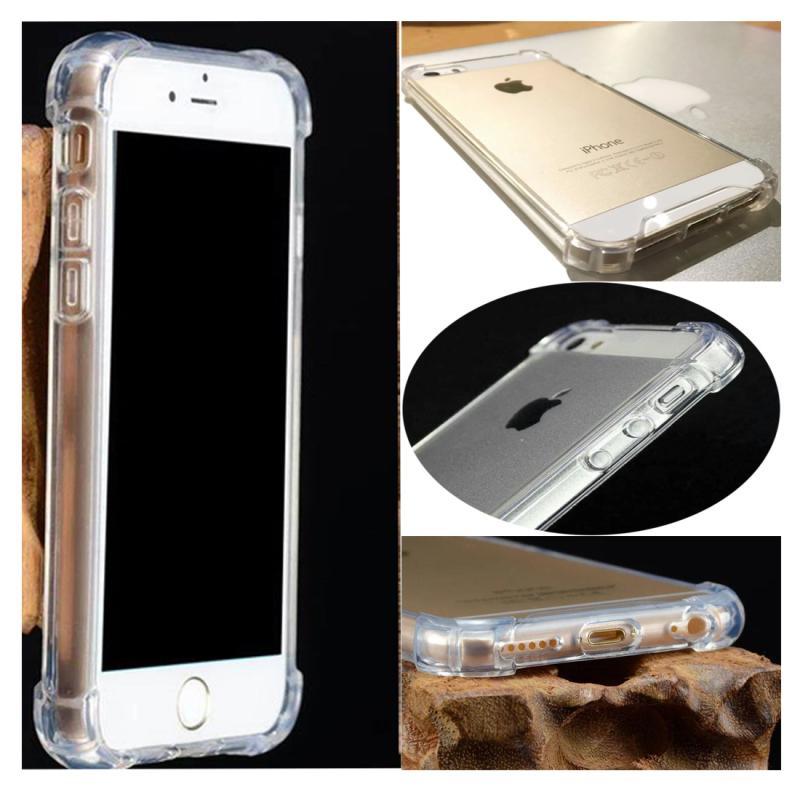 QCF Softshell Anti Crack Anti Shock Softcase Casing for Apple iPhone 7 Plus / iPhone7 Plus / Iphone 7+ (Ukuran 5.5 Inch) - Black