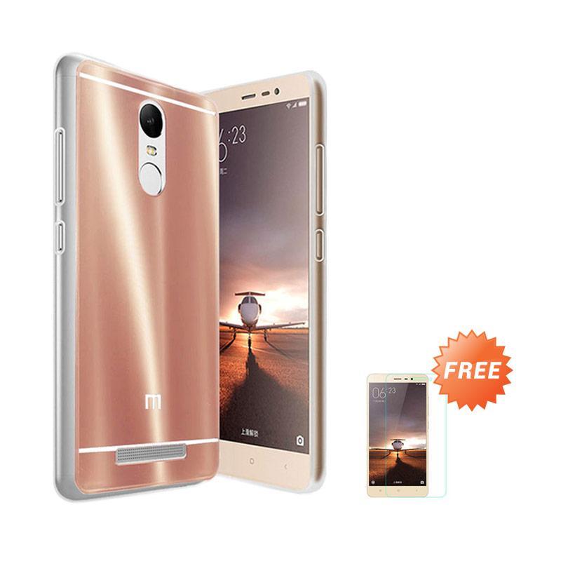 Case Aluminium Bumper Slide Mirror Casing for Xiaomi Redmi Pro - Rose gold + Free Tempered Glass Screen Protector [Best Seller]