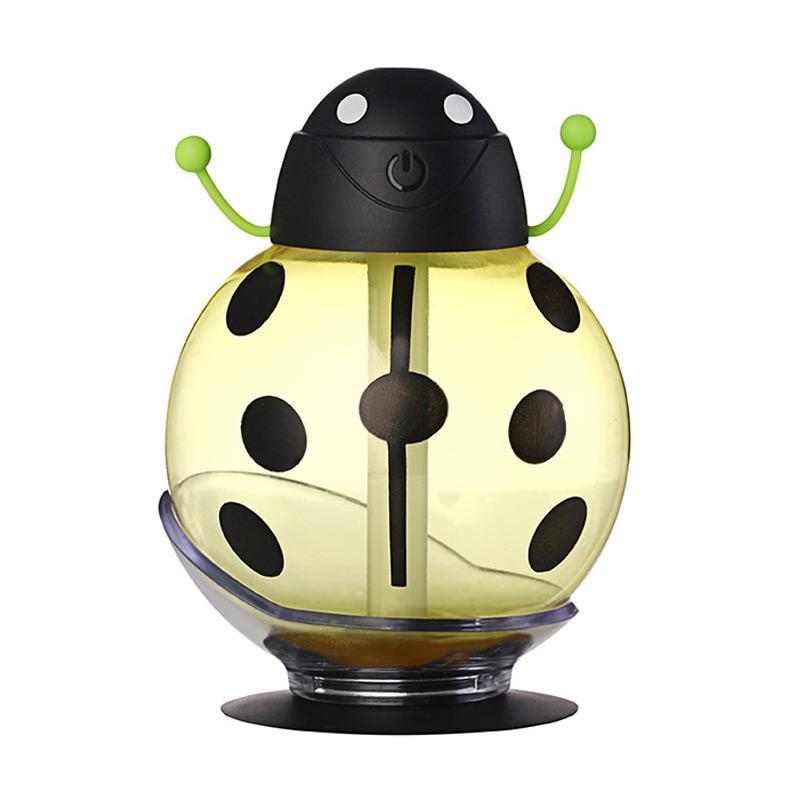 harga TOKUNIKU Mini USB LED Beetles Ultrasonic Humidifier Portable Air Diffuser Night Light Aroma Mist Maker - Humidifier Kumbang Kuning Blibli.com