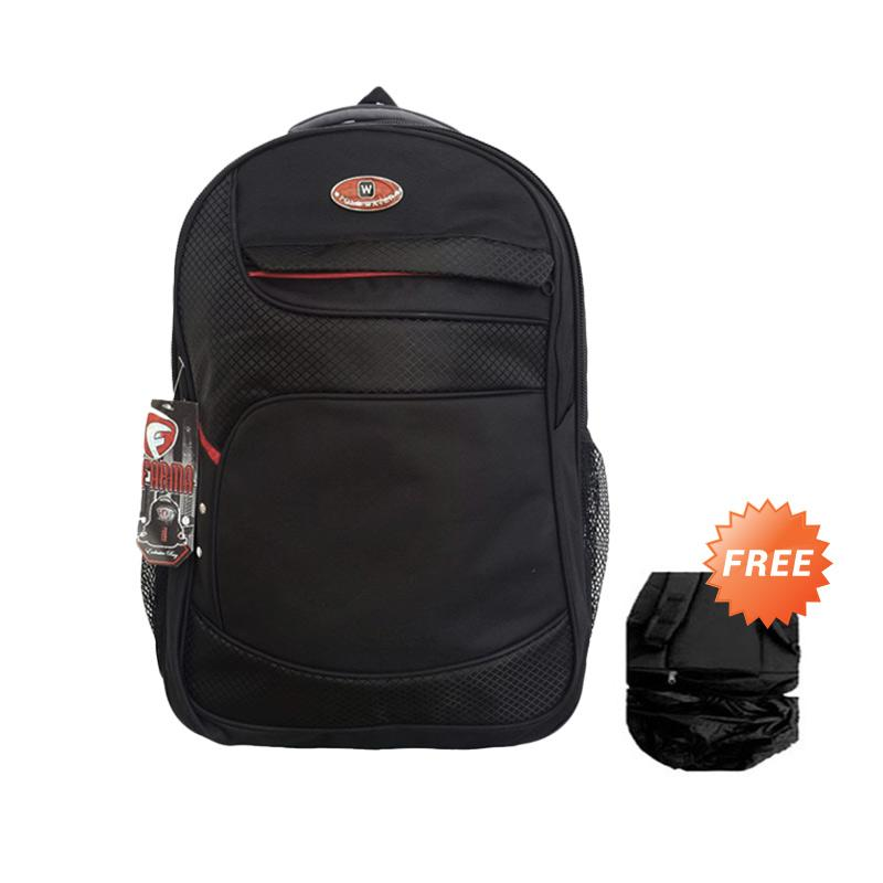 Polo USA W-RedLine Backpack - Black