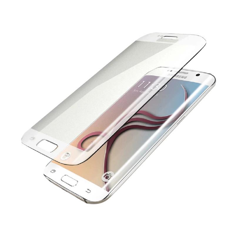 harga VR Tempered Glass Screen Protector for Samsung Galaxy S7 EDGE - Clear [Full Screen] Blibli.com