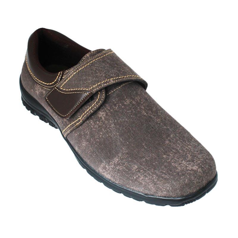 Garucci SH 1219 Sepatu Pria - Dark Brown