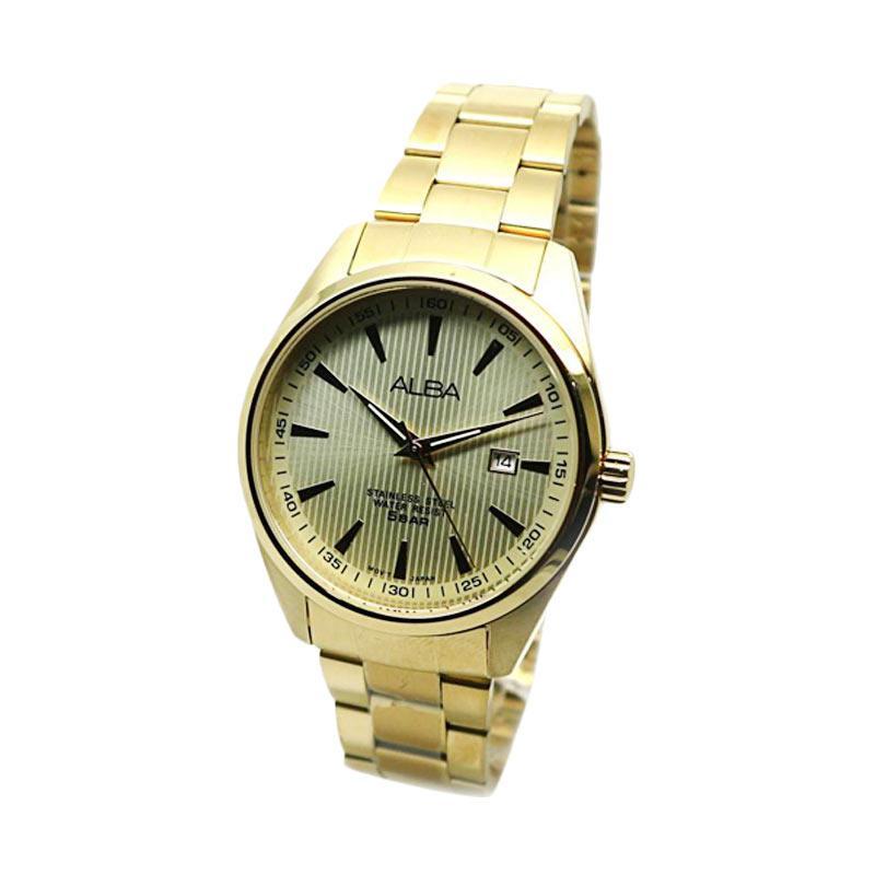 Alba AG8384X1 Jam Tangan Pria - Gold
