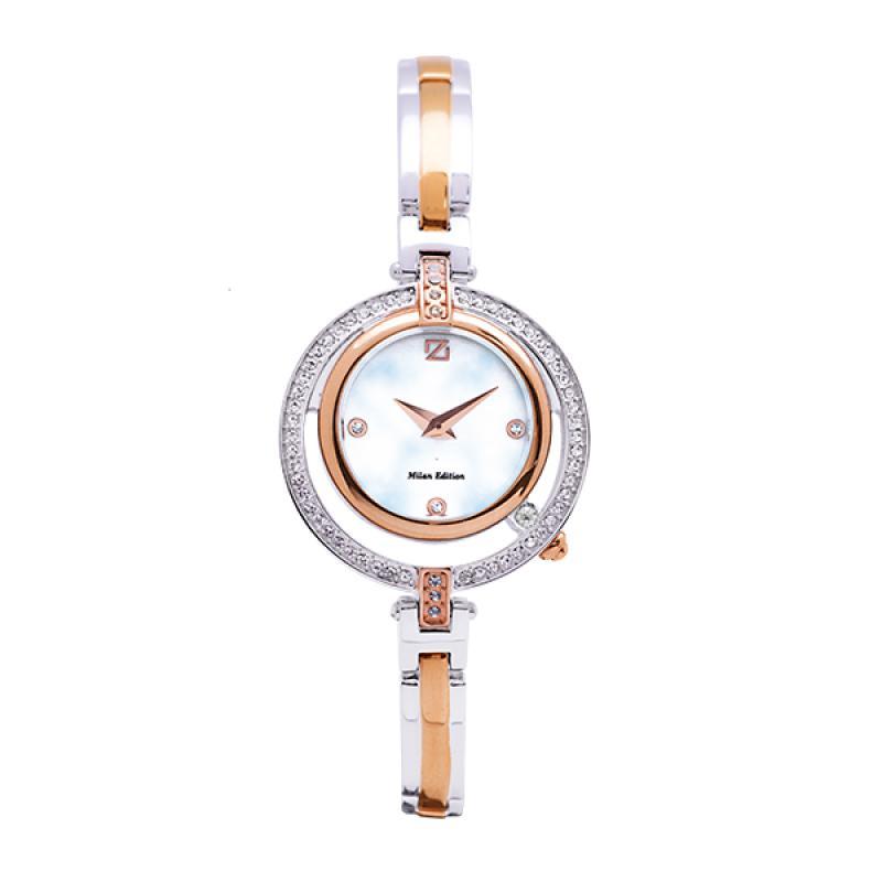 Zeca 193L.SP.RG1 Jam Tangan Wanita - Silver Rose Gold