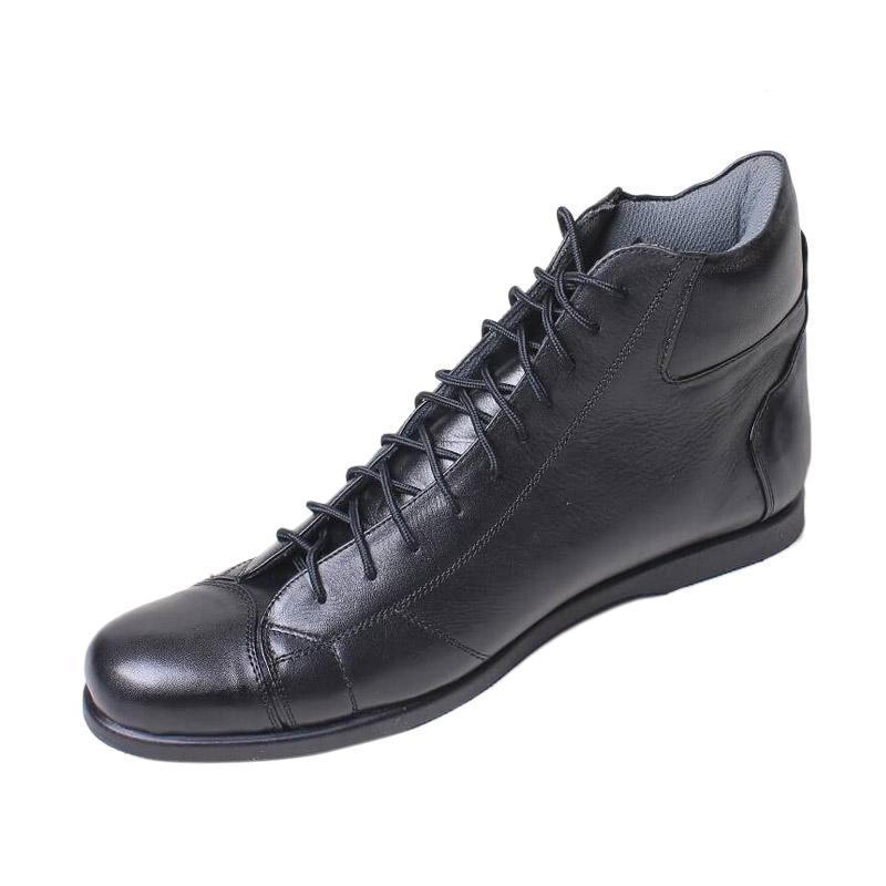 Boston Haido Sepatu Boot Pria - Hitam