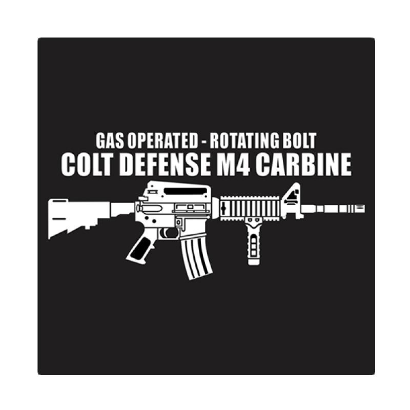 Kyle M4 Carbine Cutting Sticker
