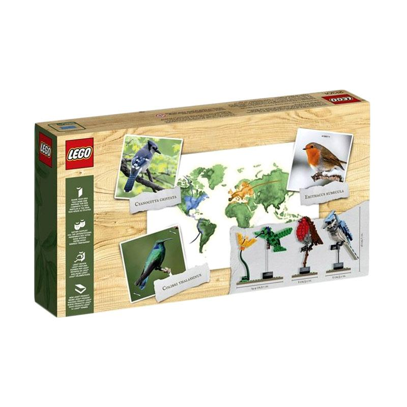 LEGO 21301 Birds Mainan Blok dan Puzzle
