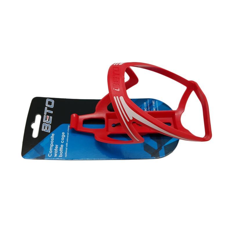 BETO BC-110 Bottle Cage Tempat Botol Minum Sepeda - Red