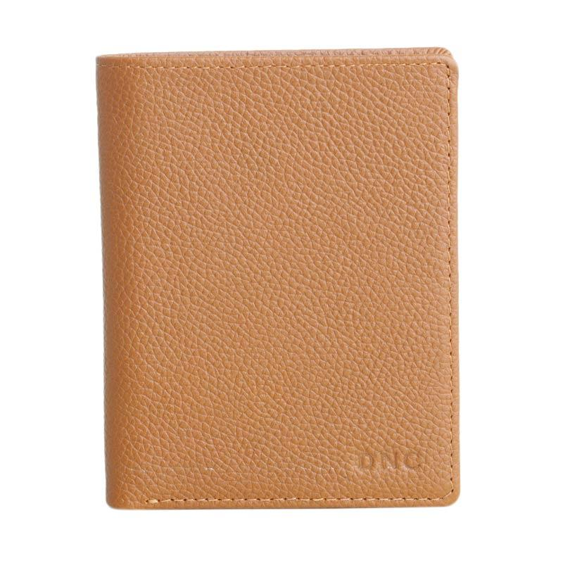 DNC Arnold Wallet - Dark Brown Orange