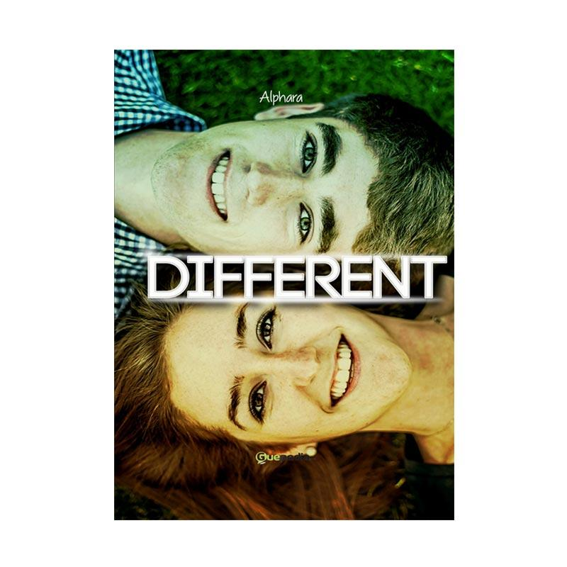 Guepedia Different by Alphara Buku Novel