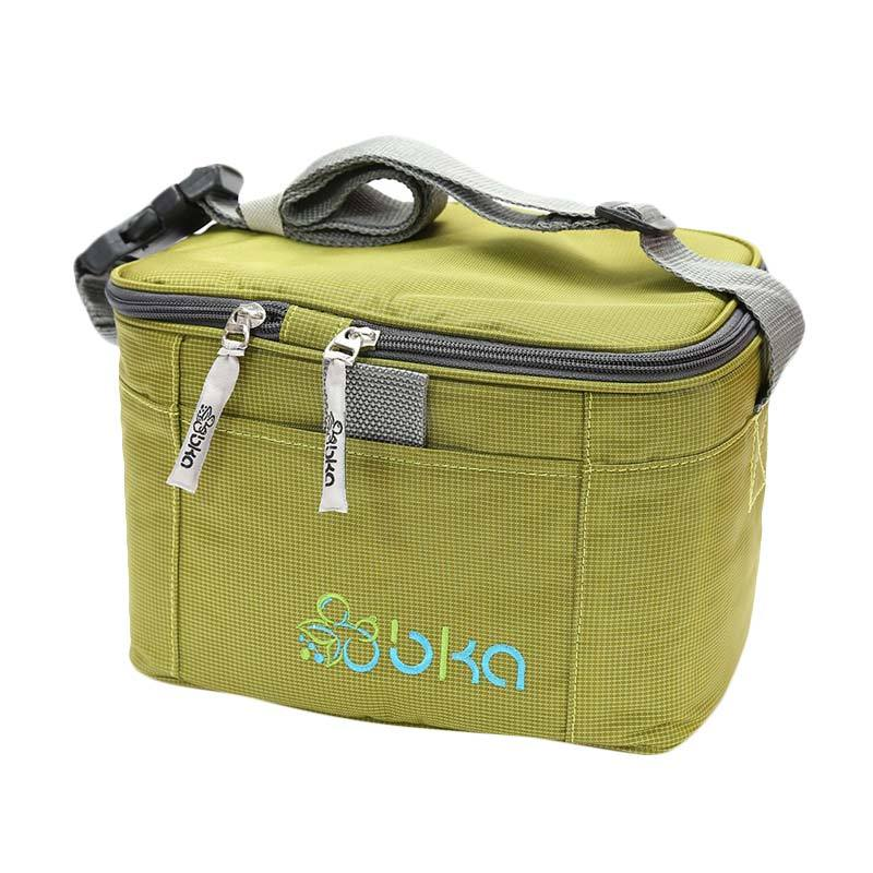 BKA Cooler Bag  FREE 2 Botol Asi BKA - Green