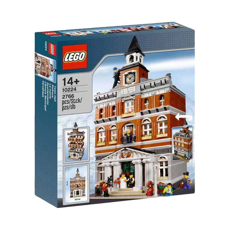 LEGO 10224 Town Hall Mainan Blok & Puzzle