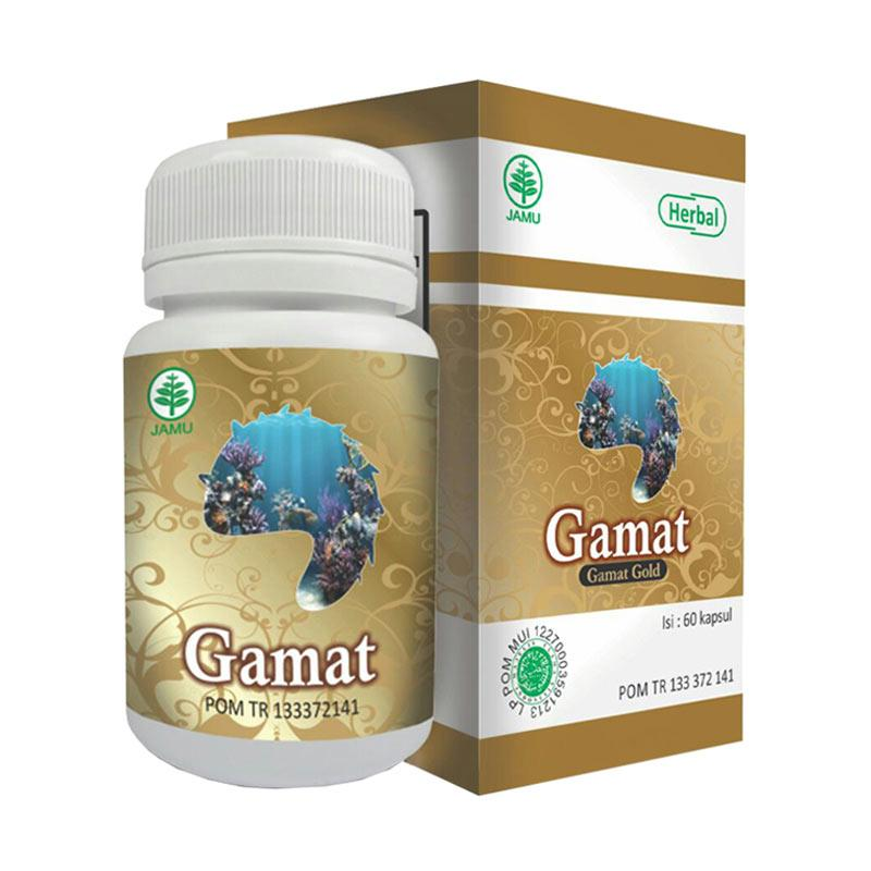 Gamat HIU Obat Herbal [60 Caps]